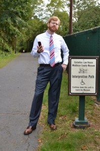 Interpretive path and cell phone tour